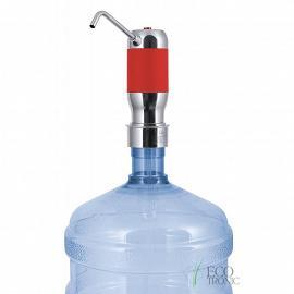 Помпа аккумуляторная Ecotronic PLR-200 red фото на бутылке