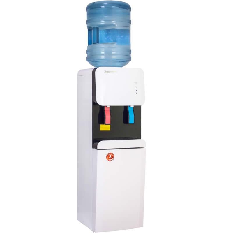 Кулер для воды Aqua Work 105-LDR бело-черный