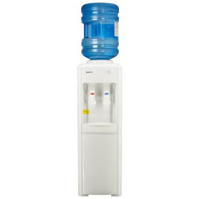 Кулер для воды Aqua Work 16-L белый вид с бутылью