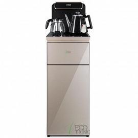 Кулер с чайным столиком Тиабар Ecotronic TB10-LNR gold общий вид