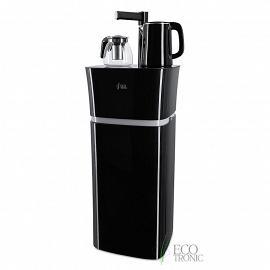 Кулер с чайным столиком Тиабар Ecotronic TB11-LE black вид сбоку