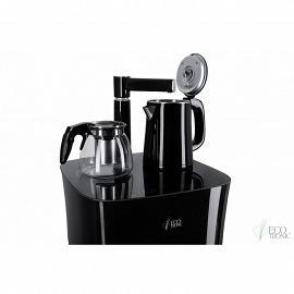 Кулер с чайным столиком Тиабар Ecotronic TB11-LE black фото чайного столика