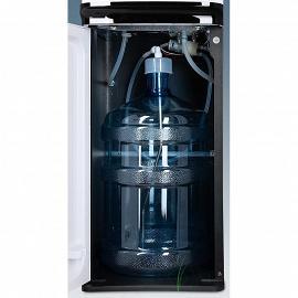 Кулер с нижней загрузкой бутыли Ecotronic K41-LXE white+black фото бутыля