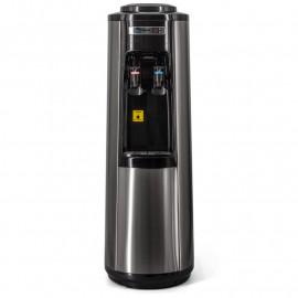 Кулер для воды Aqua Work HC66-L Steel-Black вид спереди, крупно