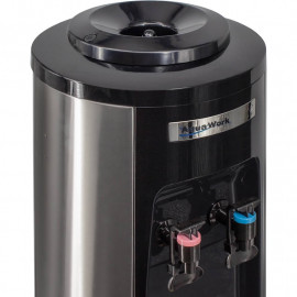 Кулер для воды Aqua Work HC66-L Steel-Black вид сверху