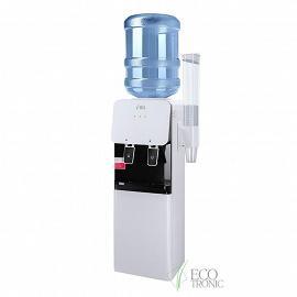 Раздатчик воды Ecotronic J1-LCWD XS вид сбоку, с держателем стаканов