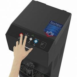 Бесконтактный кулер с нижней загрузкой HotFrost V450 AMI Black управление наливом