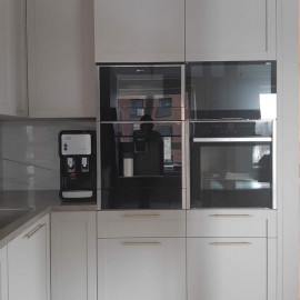 Кулер встроенный Есоtrоnic-V11U4Т INSIDE Black фото на кухне в интерьере мебели