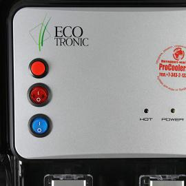 Кулер встраиваемый Ecotronic V11-U4T INSIDE Black вид на кнопки