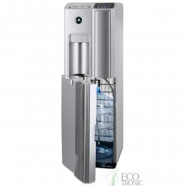 Кулер Ecotronic P7-LX silver с нижней загрузкой бутыли, с открытой дверцей