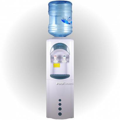 Кулер для воды Aqua Work 16-L/HLN(3L) бело/синий фото с бутылью