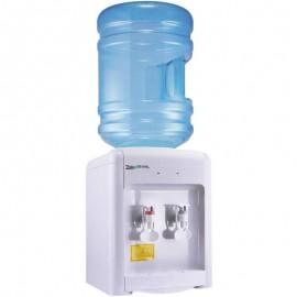 Кулер для воды Aqua Work 36-TKN белый вид с бутылкой