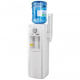 Кулер для воды Aqua Work 95-L белый вид сбоку, с бутылью