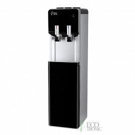 Кулер с холодильником Ecotronic M40-LF black+silver вид сбоку