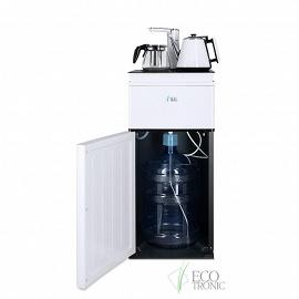 Кулер с чайным столиком Тиабар Ecotronic TB4-LE white вид на бутыль