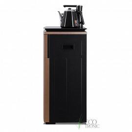 Кулер с чайным столиком Тиабар Ecotronic TB5-LE gold вид сбоку