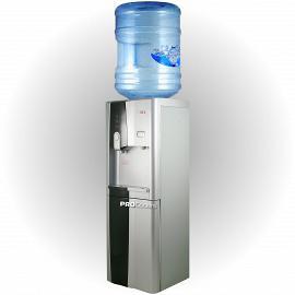 Напольный кулер для воды LD-AEL-150  вид сбоку