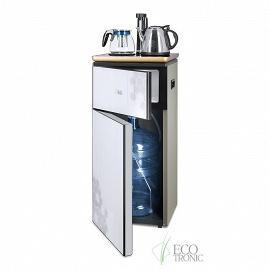 Кулер с чайным столиком Тиабар Ecotronic TB1-LE вид на бутыль