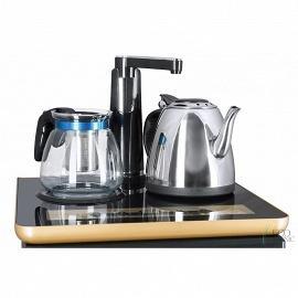 Кулер с чайным столиком Тиабар Ecotronic TB1-LE вид на чайную панель