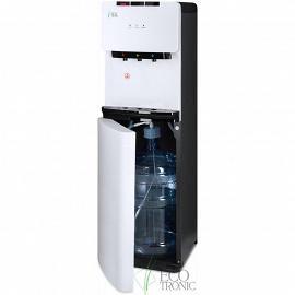 Кулер с нижней загрузкой бутыли Ecotronic K41-LXE white+black вид сбоку
